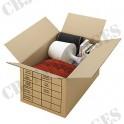 Caisse déménagement 54x34x30 avec impression (paquet de 20)