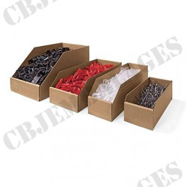 Bac à bec carton 35 x 20 x 15 cm (paquet de 50)