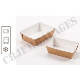 BARQUETTES SNACKING 14 x 9,5 x 5 (paquet de 40)