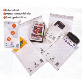 Enveloppes bulle CD 180 x 160 spécial CD et CD-ROM