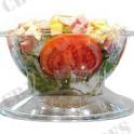 Bol Salade APET cristal a/couv 750C