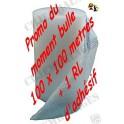 Rouleau Bulles 100 cm x 100 Ml + 1 adhésif (4,4kg) frais de port compris