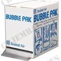Boîte carton distributrice film papier bulle 30 x 50 pour emballage envoi de lot